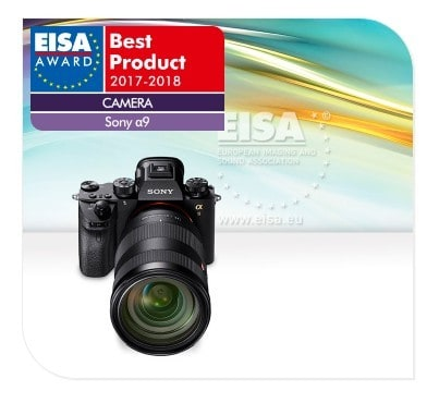 Sony a9 was voted as the best digital camera for 2018 according to EISA event.