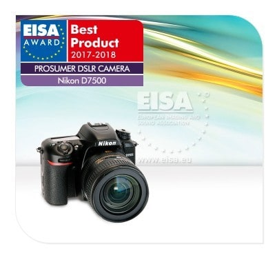 What is the best Nikon digital camera in 2018? According to EISA, Nikon D7500 is the best prosumer DSLR camera in 2018.