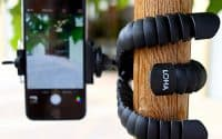 Loha tripod for smartphones is one of the best and useful gadgets for travellers in 2018.