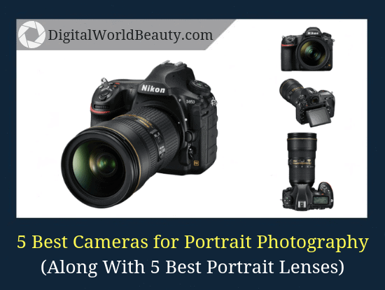 Top 5 best portrait cameras for 2019 (with the the best lenses for portrait photography).