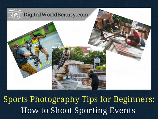 Sports photography tips for beginners, or how to shoot sporting events. What camera to choose and what camera settings to use for sports photography.
