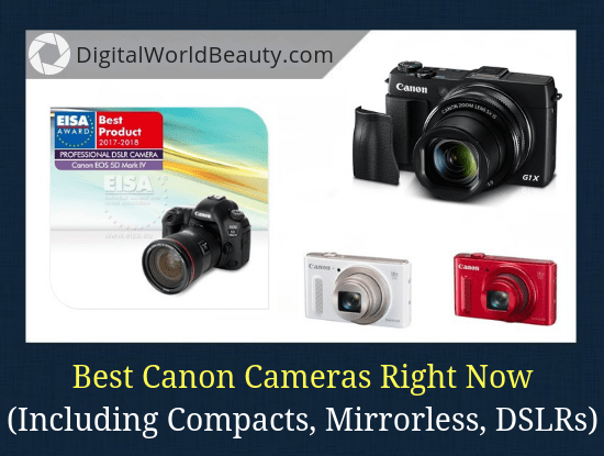 Canon Camera List 2019: Top 14 Canon Cameras (for Pros and Amateurs)