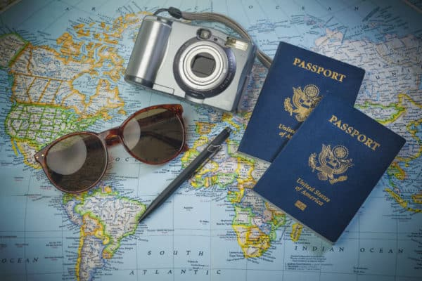 Tips and tricks on how to take a passport photo with digital camera (on your own at home).