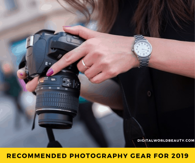 Photography Gear List 2019: Recommended Photography Equipment (Accessories) for Beginners
