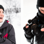 The founders of Vallerret winter gloves for photography.