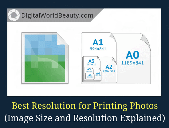 Best Resolution for Printing Photos and the Standard Photo Print Sizes (Guide)