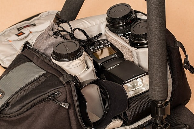 One of the mistakes travel photographers make is packing camera in the luggage.