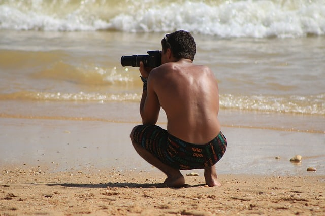 How to Avoid Getting Sand on Your Camera While at the Beach