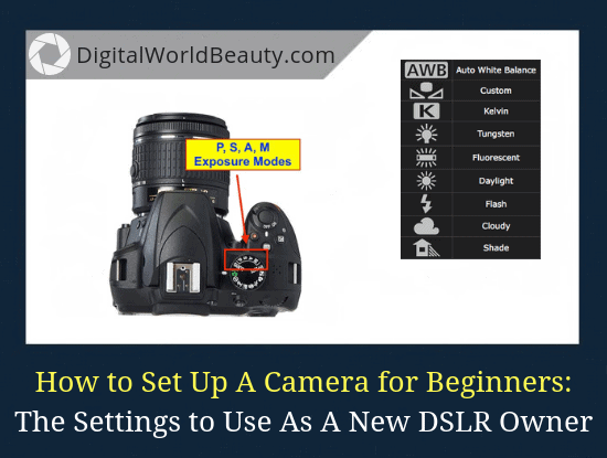 How to Set Up A New Camera Correctly for Beginners (Easy-to-Understand Guide on What Settings to Use)