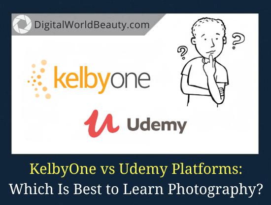 KelbyOne vs Udemy Platforms Compared