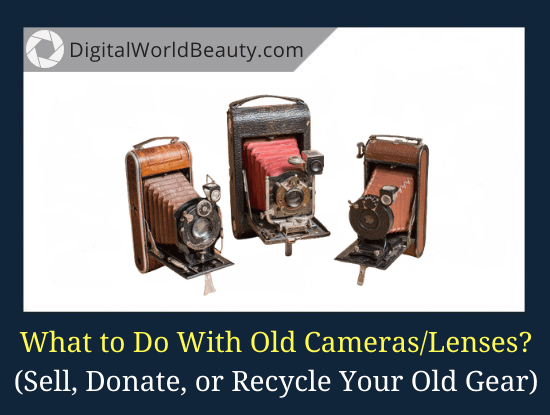 What to Do with Old Cameras (Lenses)?